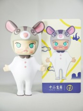 Pop Mart Kennyswork MOLLY Chinese Zodiac Rat 09